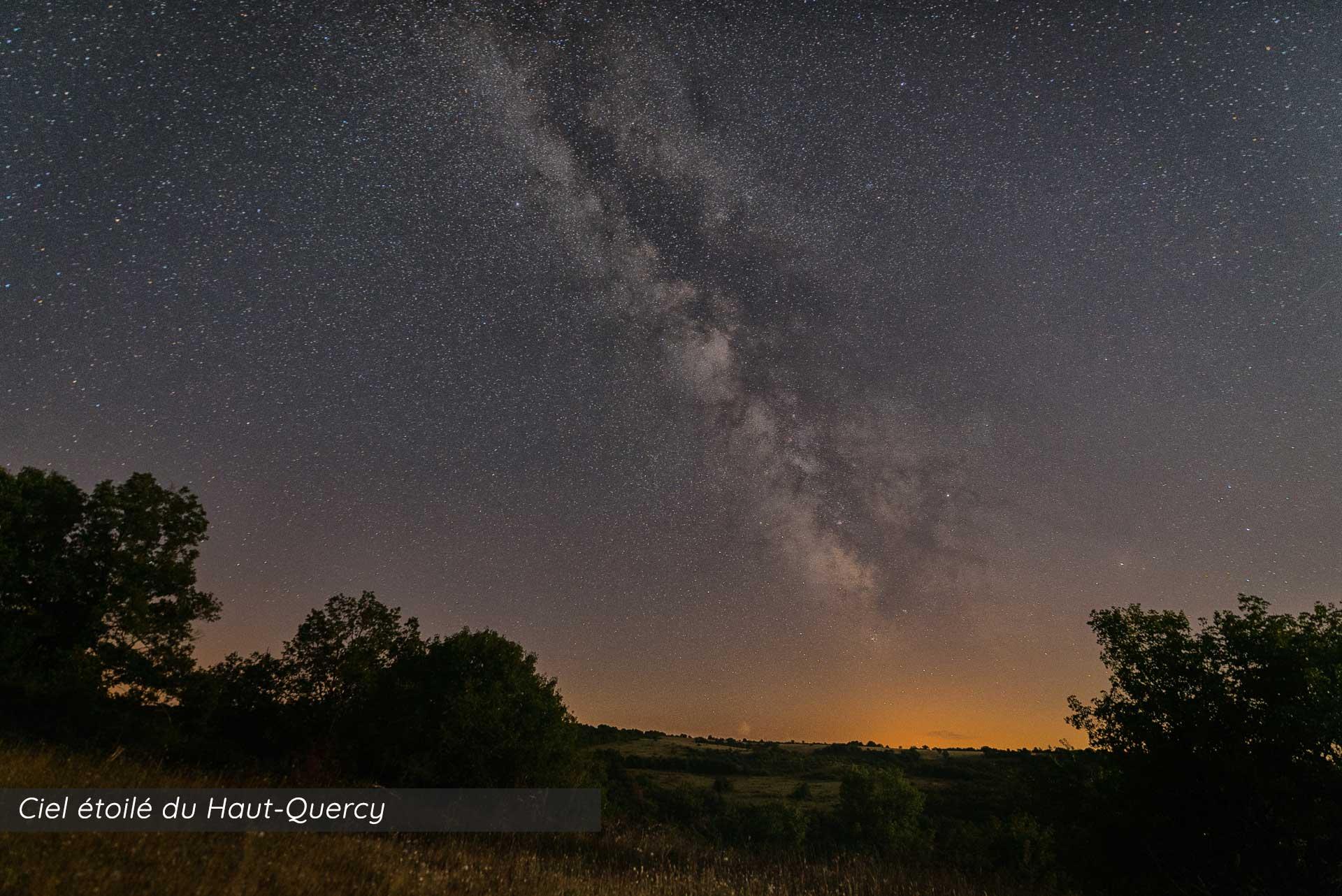 Ciel étoilé du Haut-Quercy