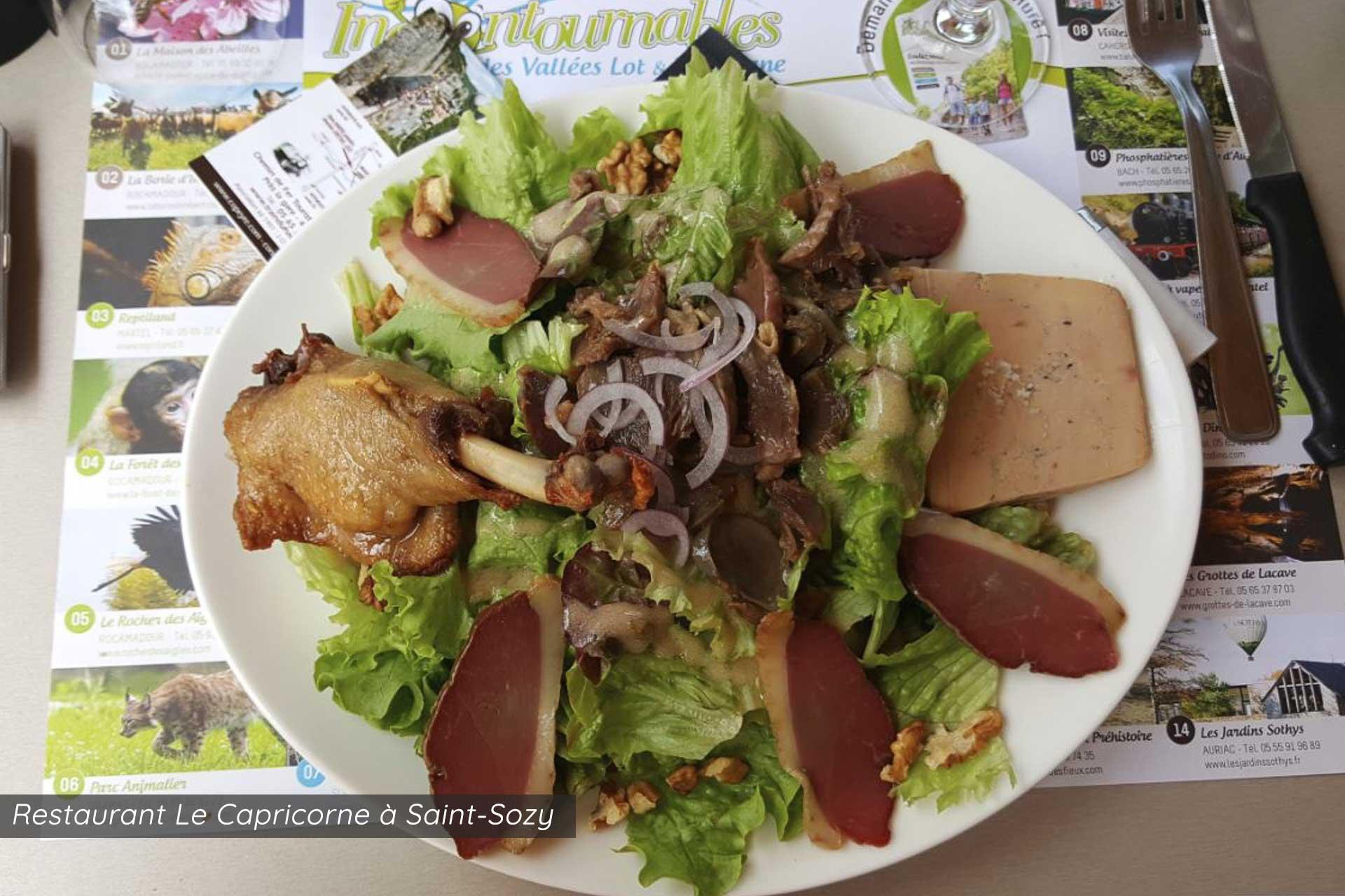 restaurant le capricorne saint sozy