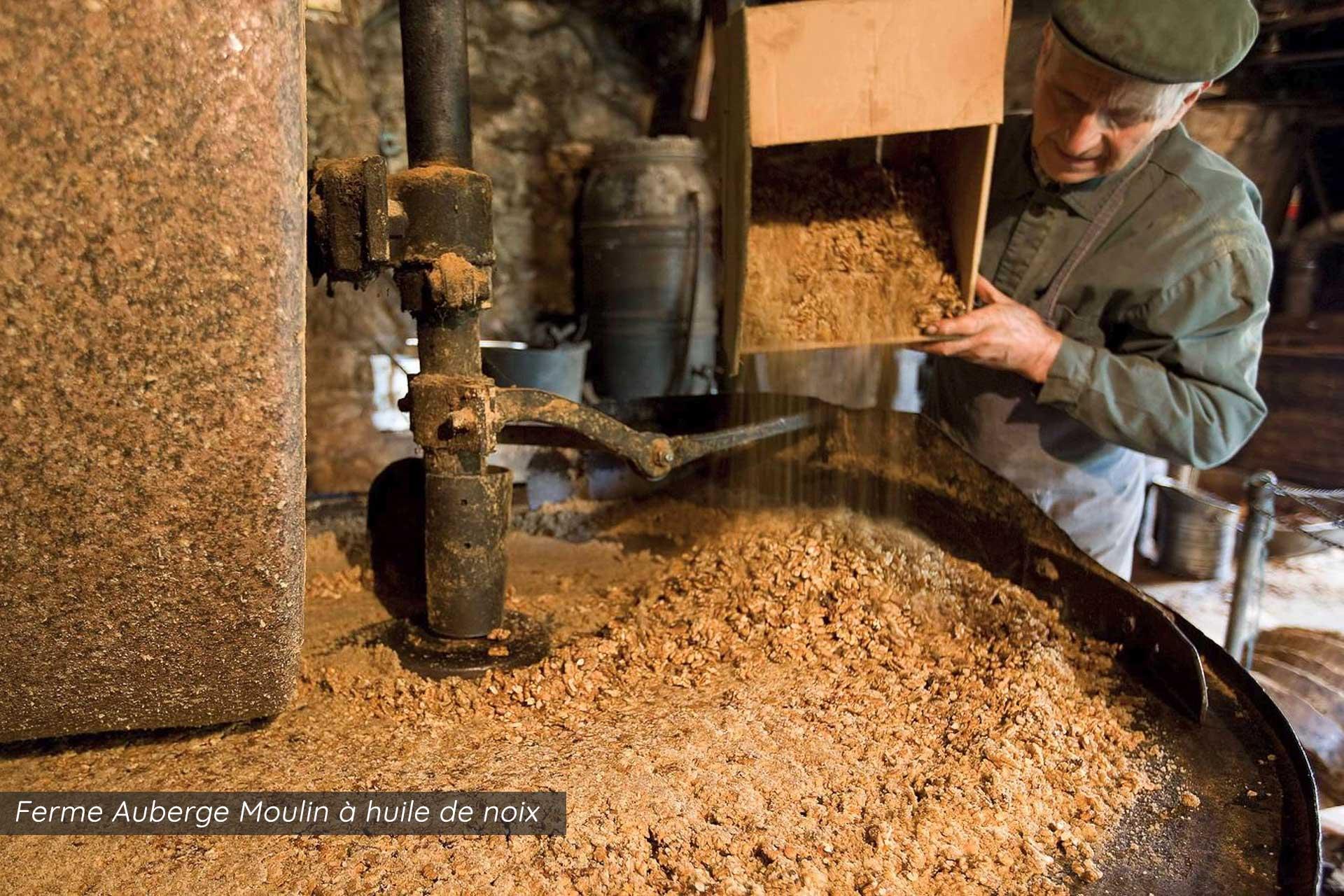 ferme auberge moulin à huile de noix martel